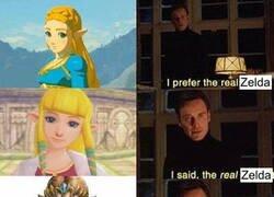 Enlace a Por mucho que Zelda sea la princesa...
