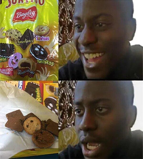 caras,engaño,fail,galletas,sonrisas