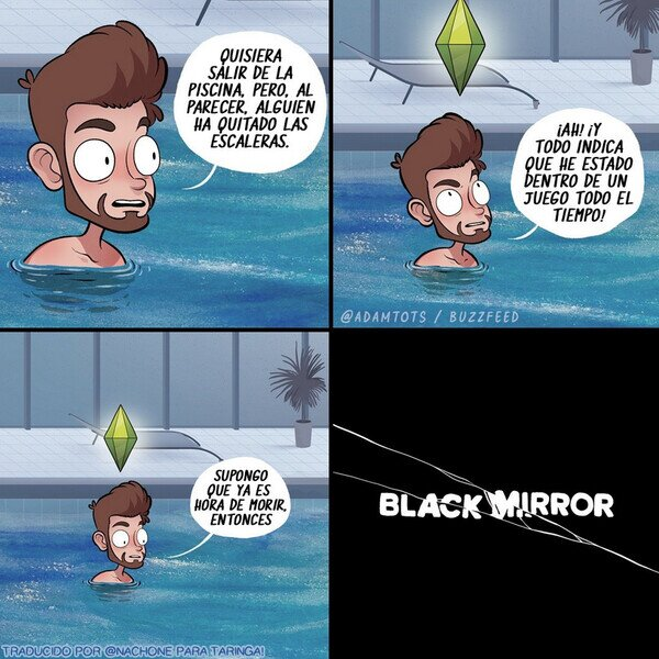 Meme_otros - Los Sims X Black Mirror