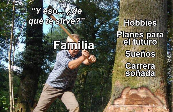 Otros - Tu familia se preocupa mucho por ti