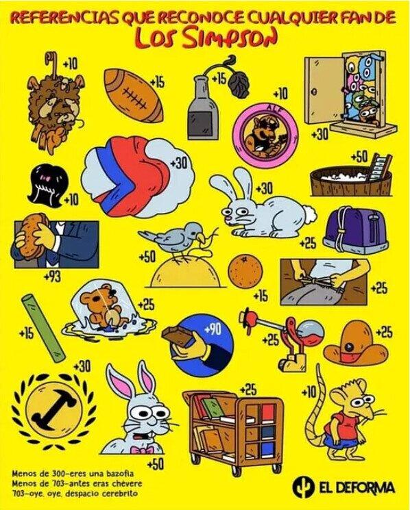 Meme_otros - Referencias que conoce cualquier fan de Los Simpson