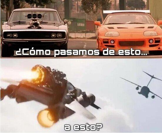 Meme_otros - Fast & Furious, ¿qué te han hecho?