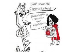 Enlace a Caperucita MUY Roja