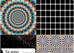 Enlace a Solo ilusiones ópticas
