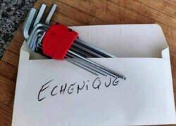 Enlace a A Echenique también le han amenazado por carta