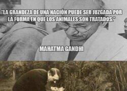 Enlace a Gandhi tampoco tenía la razón absoluta