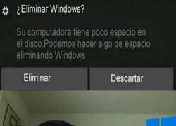 Enlace a Windows se hirió a si mismo