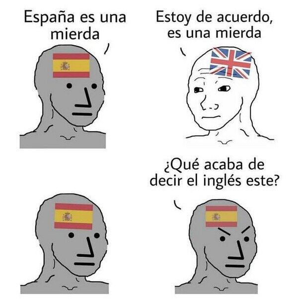 España,inglés,patriotismo