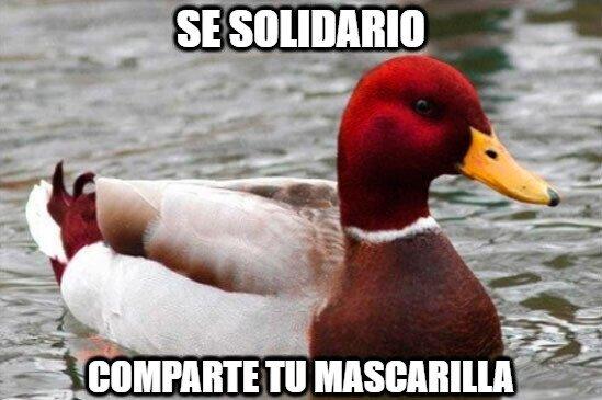 Pato_mal_consejero - Sé solidario...