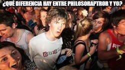 Enlace a ¿Qué diferencia hay entre philosoraptror y yo?