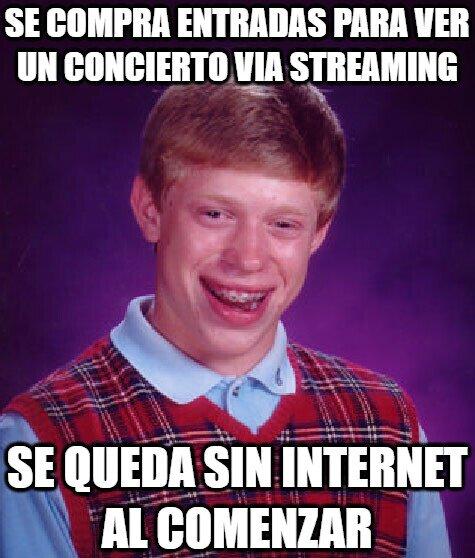 Bad_luck_brian - Desventajas de Internet