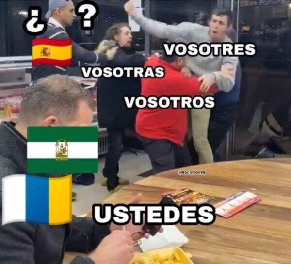 Andalucia,Canarias,España,inclusivo,lenguaje,ustedes,vosotras,vosotres,vosotros