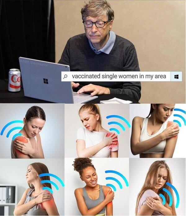 Bill Gates,chicas,coronavirus,ligar,vacuna