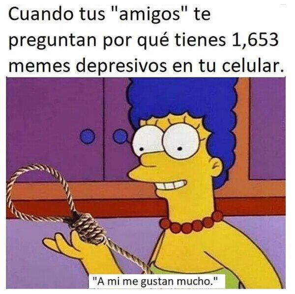 amigos,depresivos,memes,móvil