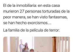 Enlace a Familia idílica busca casa del infierno