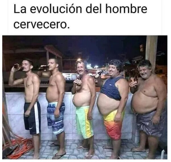 Meme_otros - La cerveza es evolución