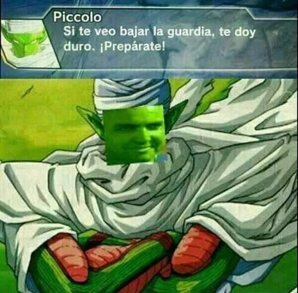 Meme_otros - Este Piccolo es todo un pillín