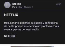 Enlace a Me ha hablado Brayan, CEO de Netflix
