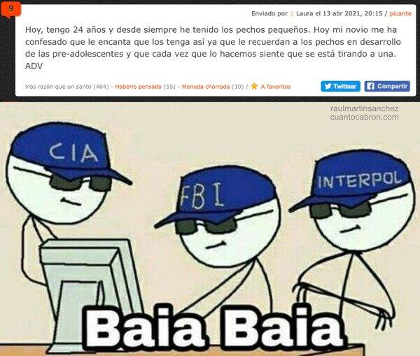 aco de vida,cia,fbi,interpol
