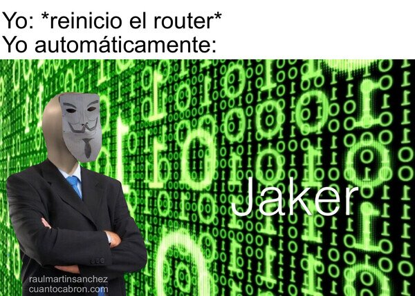 Jaker,plantilla gratis :),reiniciar,router