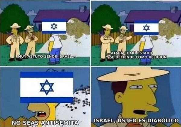 Meme_otros - Israel, es usted diabólico