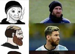 Enlace a Messi podría ser el hombre de los memes