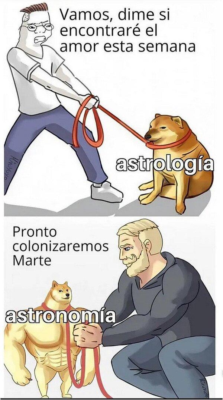 Meme_otros - ¿Astrología o astronomía?