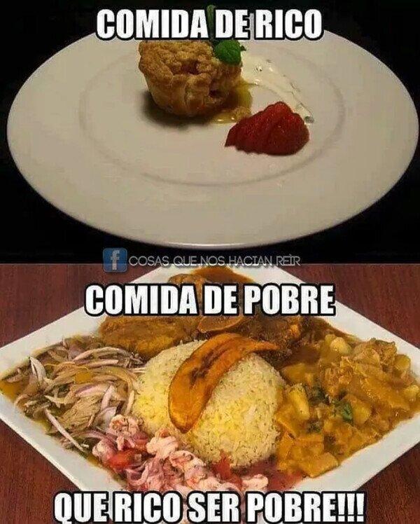Meme_otros - Que se queden para ellos esos platos tan sofisticados