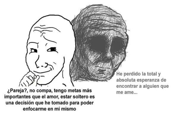 Meme_otros - La realidad de los que prefieren estar solos