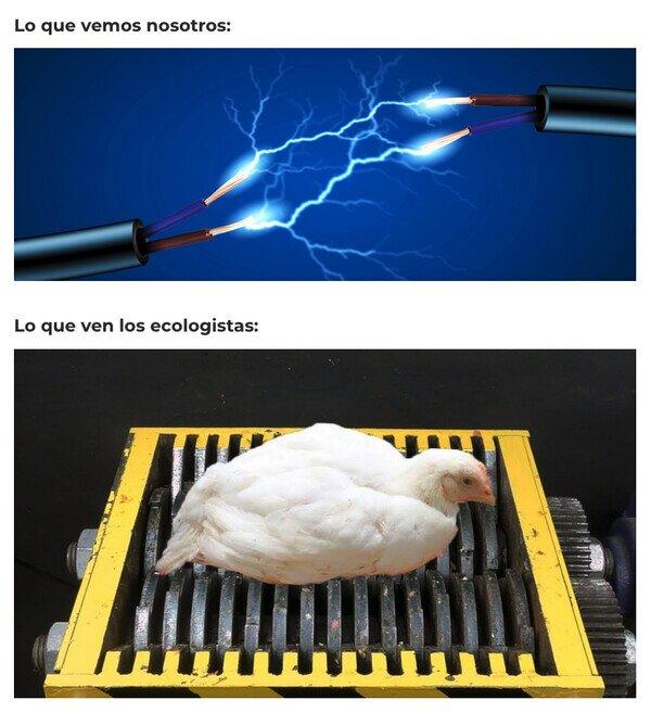 Otros - Electricidad = malo