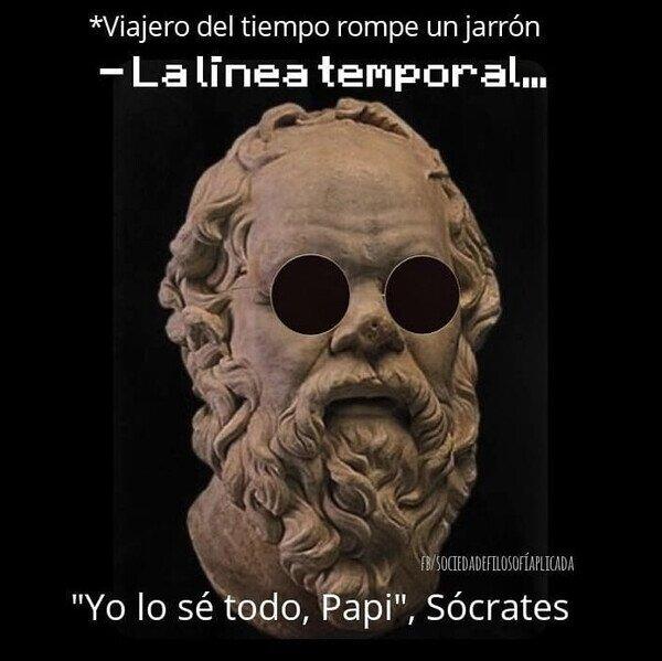 Otros - Sócrates ya lo sabe todo