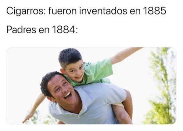Meme_otros - Antes los padres sí disfrutaban de sus hijos