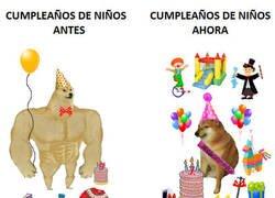 Enlace a Han cambiado mucho los cumpleaños para niños y cómo éstos los valoran...