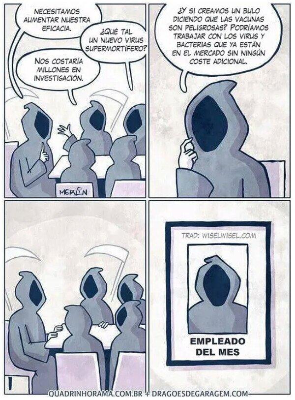 Meme_otros - Mientras tanto, en las oficinas de la muerte