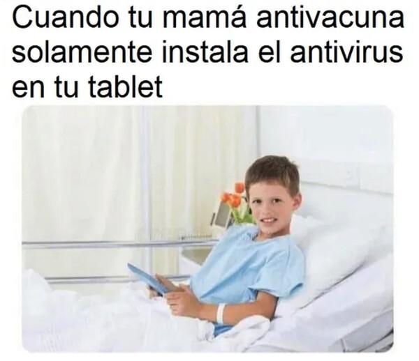 Meme_otros - Para la tablet sí, pero para tu hijo no