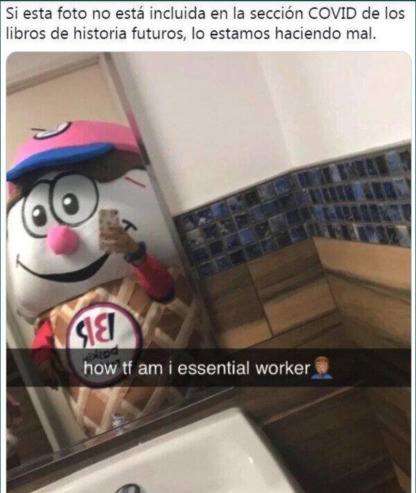 Meme_otros - Trabajador esencial