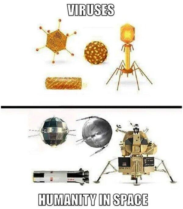 Otros - Somos un virus para el espacio