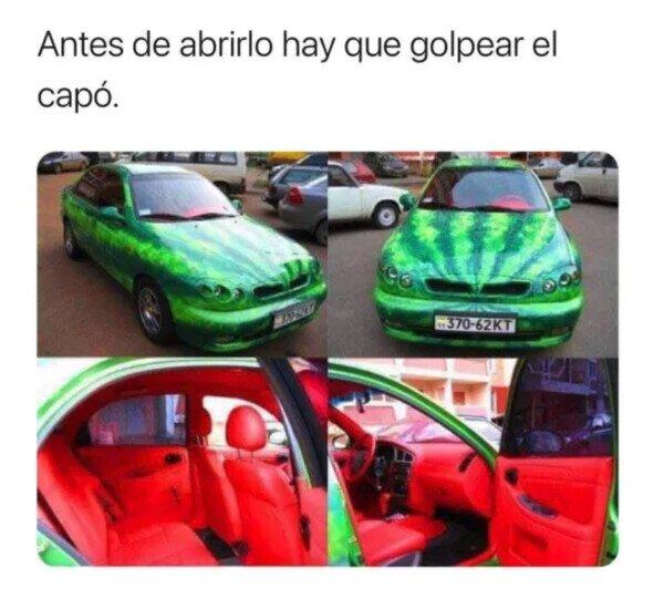 Otros - El coche sandía