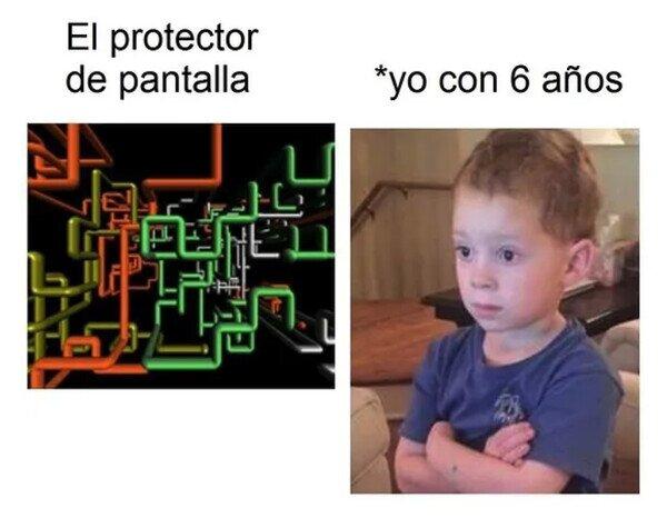 niño,ordenador,pequeño,salvapantallas