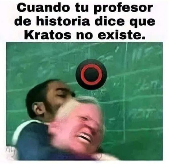 existir,god of war,historia,Kratos,profesor