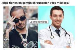 Enlace a Medicina y reggaeton