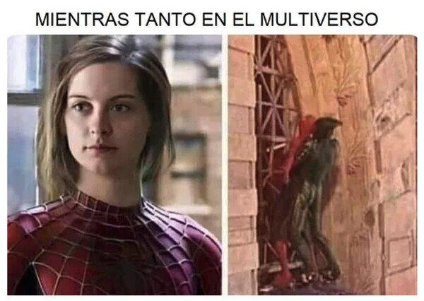 chica,duende verde,multiverso,spiderman