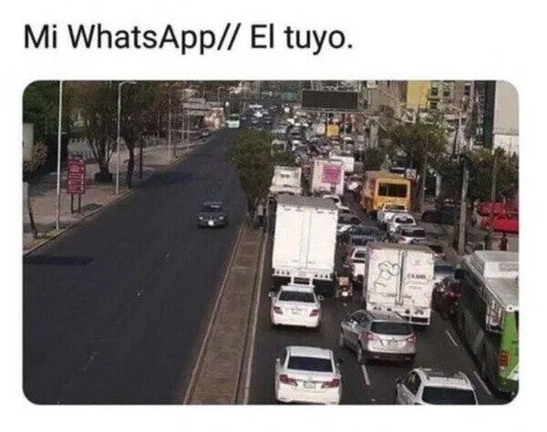 Meme_otros - La diferencia de tráfico
