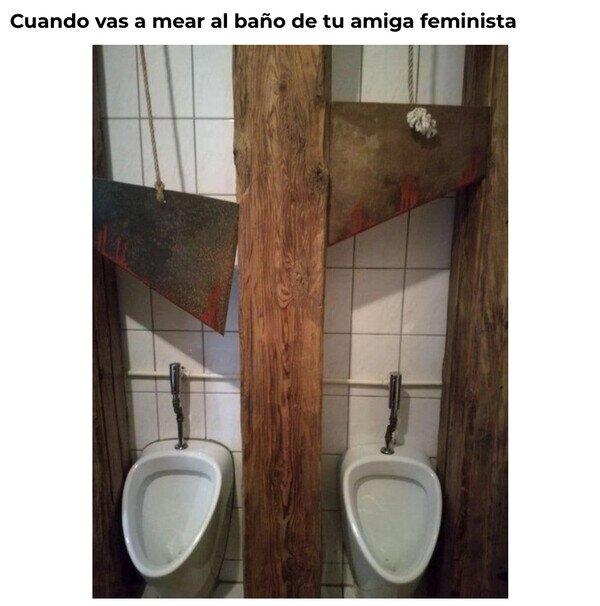 baño,feminista,guillotina,wc
