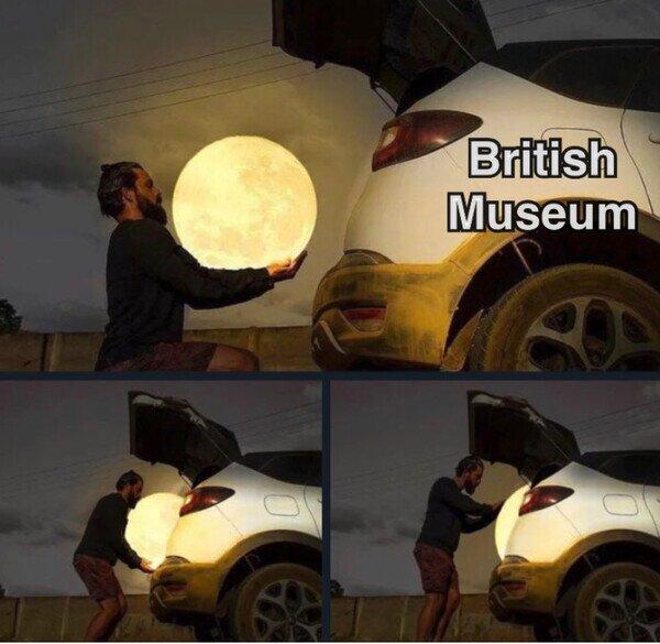 Meme_otros - Si los británicos hubiesen llegado primero a la luna