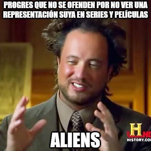 Ancient_aliens - Es extraño ver que ese tipo de gente no reaccione así frente a una película