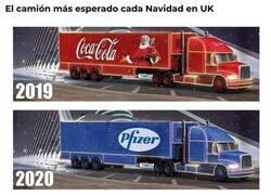 Enlace a Camiones que esperan en UK
