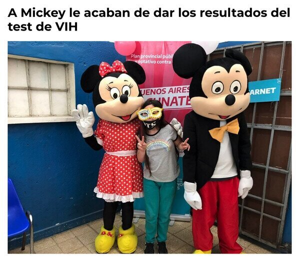 Otros - ¿Qué es esa cara, Mickey?