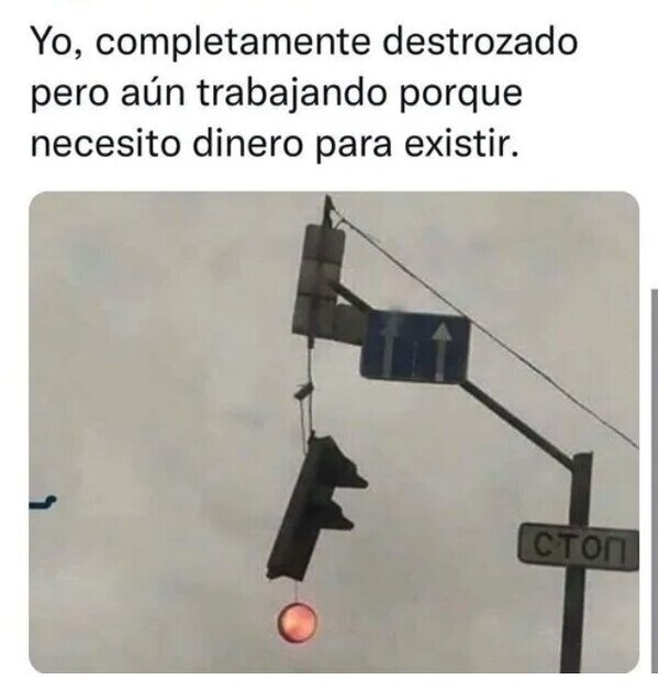 Otros - Ese semáforo me representa