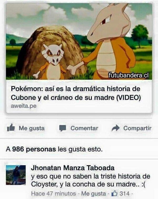 Meme_otros - Historias Pokémon tristes